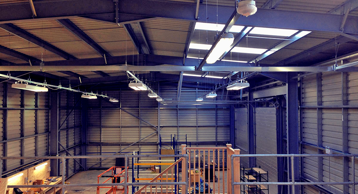 industrial electrical work london